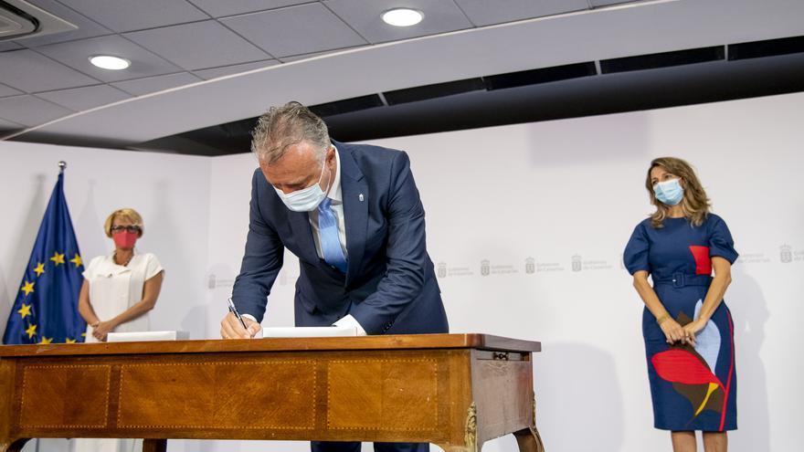 Canarias y Estado adelantan la firma del PIEC para plantar cara a las consecuencias de la COVID-19 en el empleo