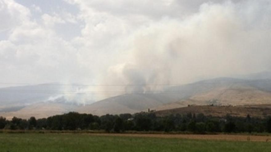 Incendio Forestal En Ger (Lleida), En La Comarca De La Cerdanya