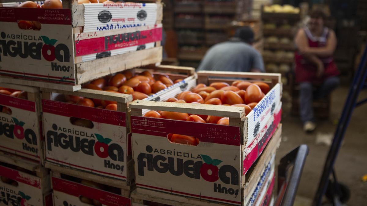El tomate fue el producto que más volatilidad mostró en 2020