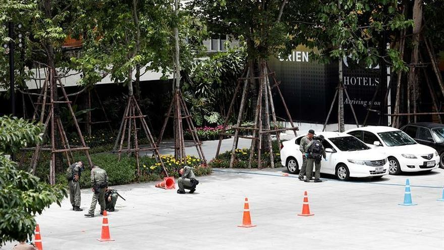 Al menos cuatro heridos al explotar varias bombas caseras en Bangkok