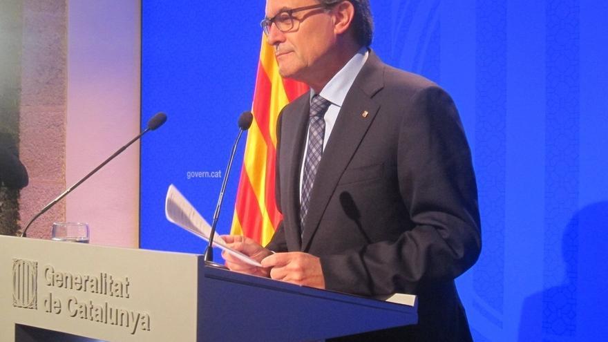 """Mas subraya el carácter """"profundamente europeísta"""" del catalanismo"""