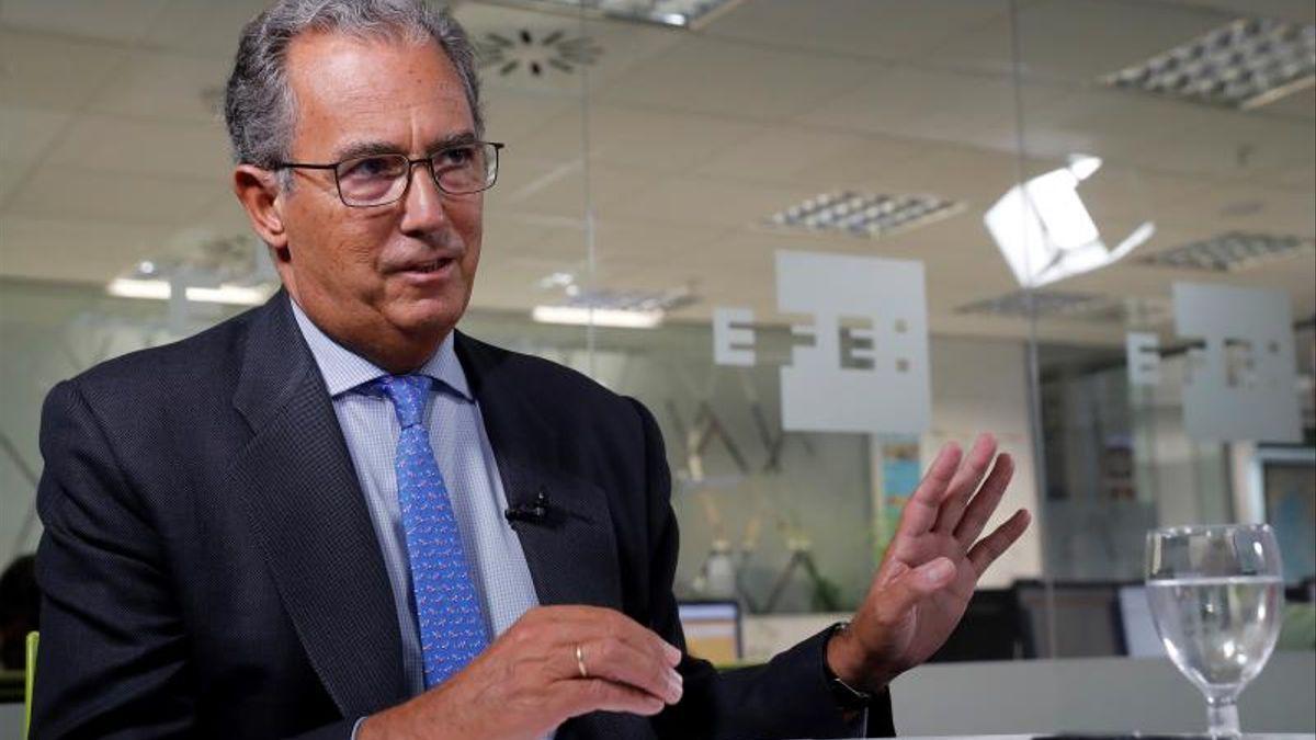 El consejero de Educación de la Comunidad de Madrid, Enrique Ossorio.