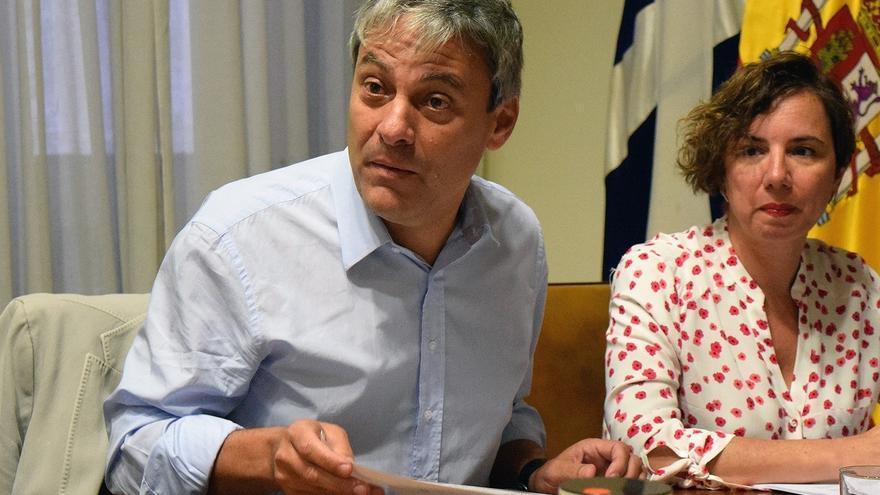 Carlos Garcinuño, concejal de Urbanismo en Santa Cruz, del PP, destituido este martes por el alcalde