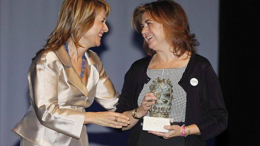 Lucía Méndez, premio Tierras de Zamora a la mejor embajadora de la provincia