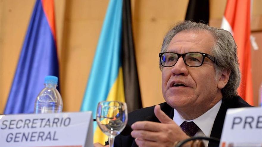 Almagro critica que la oposición venezolana no eligiera mediadores de diálogo