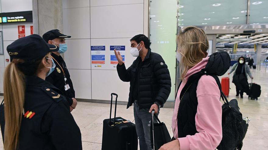 Aena tiene programados para hoy 175 vuelos a Reino Unido