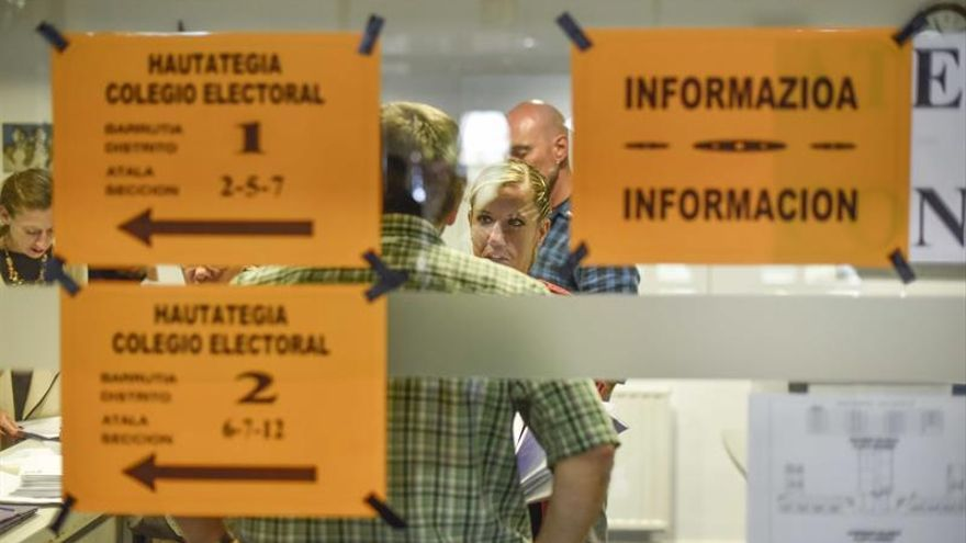 La participación se mantiene Galicia pero cae casi 3 puntos en el País Vasco