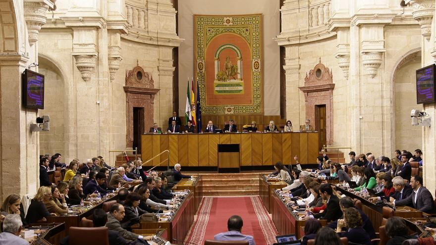 Salón de Plenos / Foto: Parlamento de Andalucía