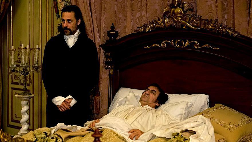 Juanjo Cucalón como Fernando VII en 'El Ministerio del Tiempo'