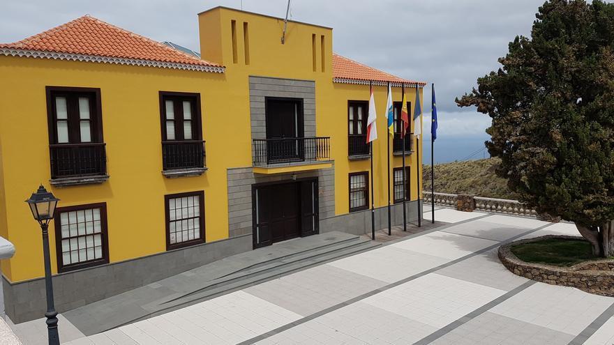 Ayuntamiento de Tijarafe. Foto: LUZ RODRÍGUEZ.