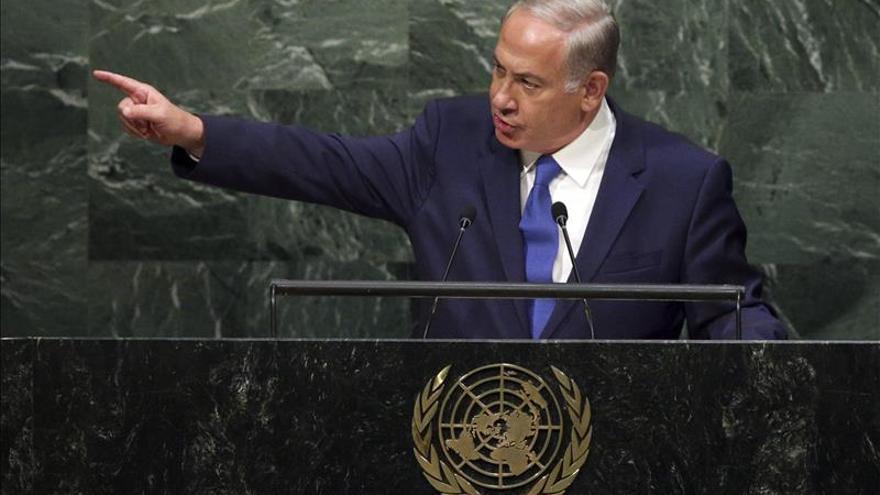 """Netanyahu denuncia que la ONU es """"obsesivamente hostil"""" hacia Israel"""