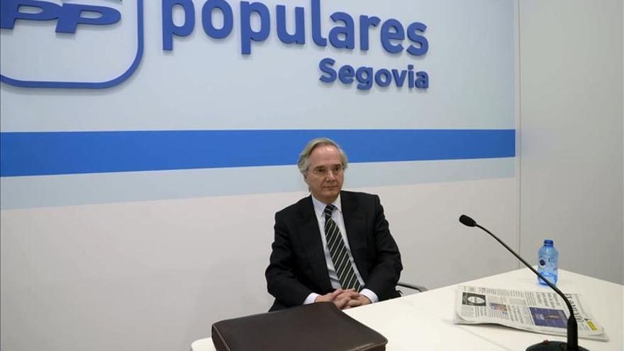 El PP acepta baja de Arístegui y propone que De la Serna no entre en su grupo