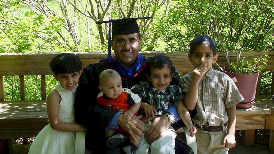 La familia de Mohammad, profesor de Económicas y cofundador de ACPRA