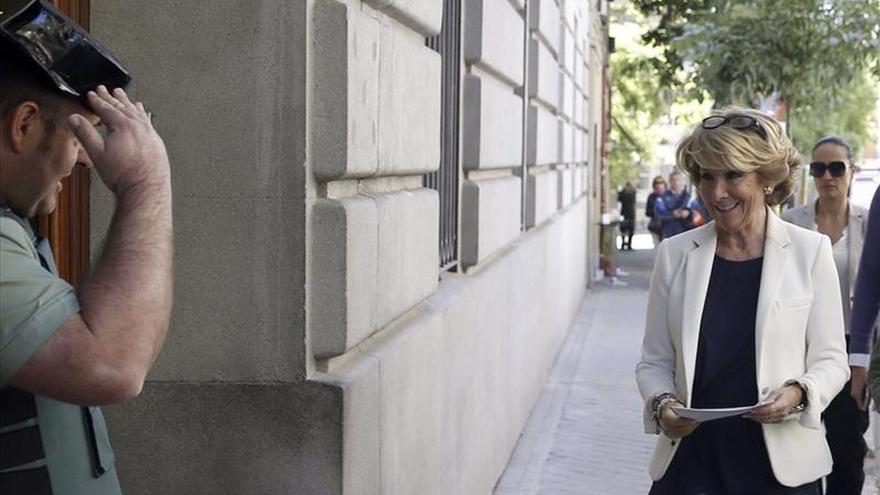 """Aguirre califica de """"atentado"""" la filtración de sus datos a tres días del 24M"""