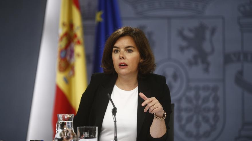 """Santamaría entiende que el PSOE precise """"un tiempo de reflexión"""" pero apela a su responsabilidad en un """"momento crucial"""