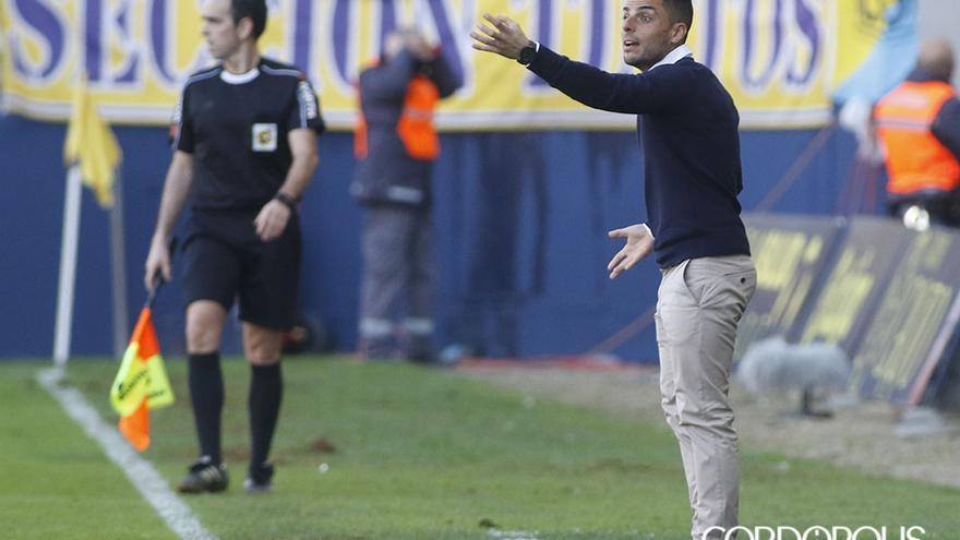 Jorge Romero durante el partido en Carranza | LOF