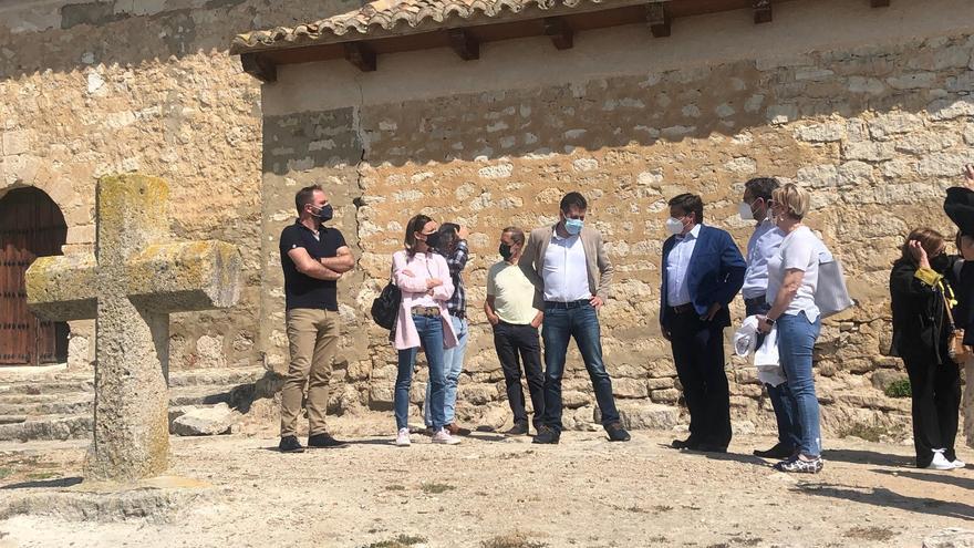 Visita de Tudanca a Trigueros del Valle (Valladolid)