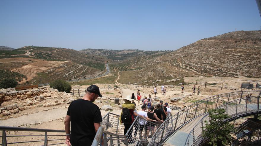 Sitio arqueológico de Ancient Shiloh © Amnesty International