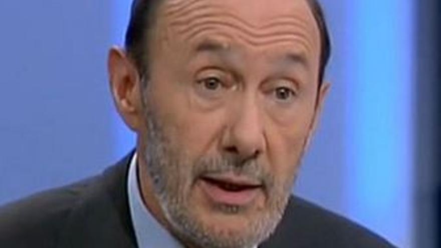 Alfredo Pérez Rubalcaba. (RTVE)