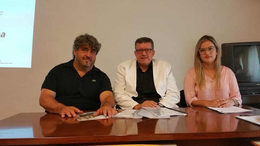 Miguel Ángel Rodríguez, Enrique Rovira-Beleta y Patricia Acosta. Foto: LUZ RODRÍGUEZ.