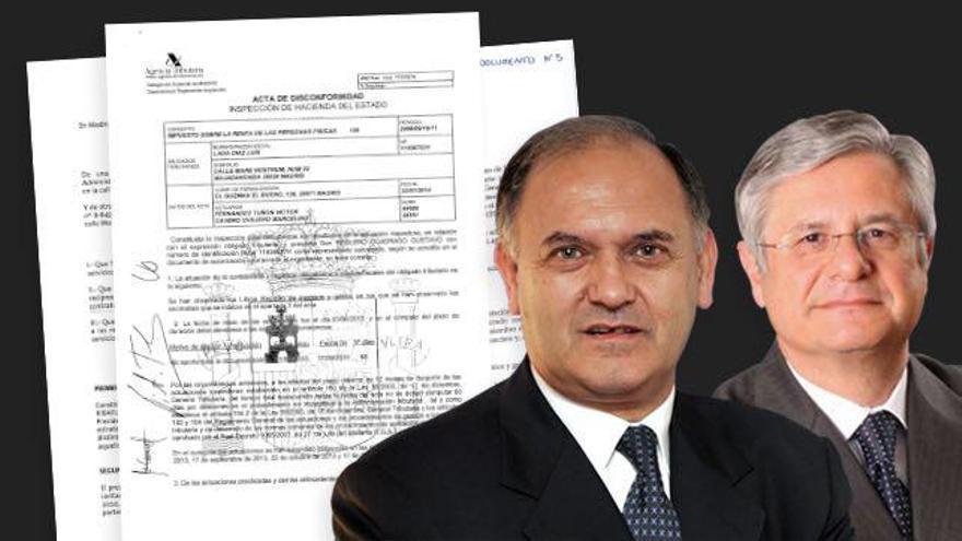 Luis Lada y Fernando Ramírez Mazarredo, ex directivos de Telefónica y Repsol.