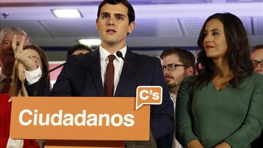 Ciudadanos apuesta por un gobierno en minoría del PP, con abstención del PSOE