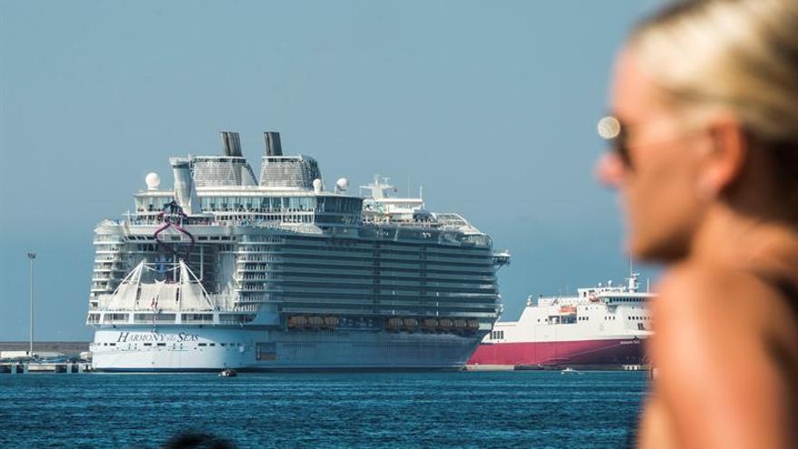España registra 6,2 millones de cruceristas hasta septiembre, un 2 % más