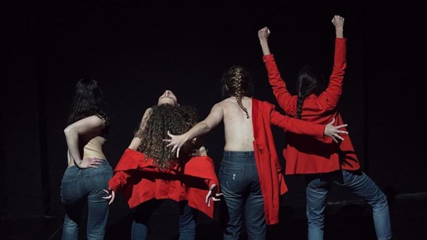 Las cuatro artistas de la obra 'Habla coño habla', que estará en el Teatre Talia el 24 de septiembre.