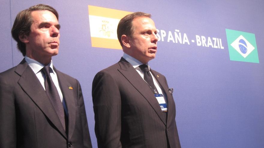 """Aznar pide una """"acción muy clara"""" contra los que buscan independizarse"""