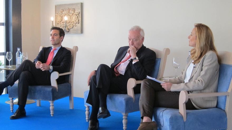 """García-Margallo cree que el PP ganará las elecciones, pero no ve una """"buena noticia"""" un mapa tan """"fragmentado"""""""