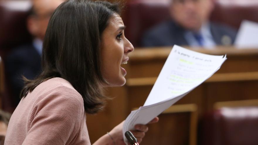 Montero (Podemos) dice que las normas sobre acumulación de cargos son las de Vistalegre hasta que haya nuevo congreso