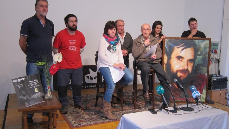 Homenaje el 21 de noviembre en Garralda a Mikel Zabalza en el 30º aniversario de su desaparición y muerte