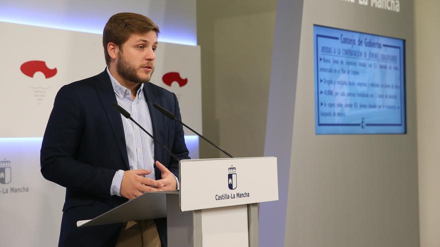 Nacho Hernando, portavoz de la Junta de Comunidades de Castilla-La Mancha