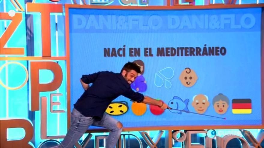Pedroche y Dani Martínez explican con emoticonos el conflicto catalán
