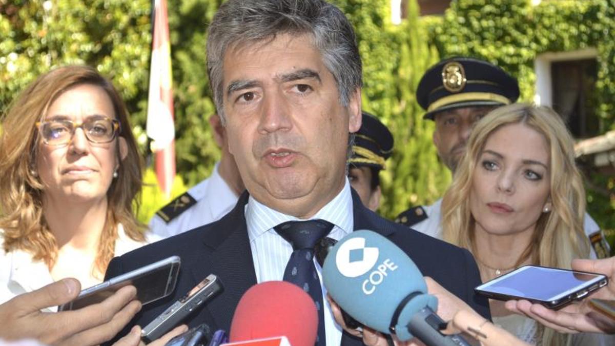 El exdirector general de la Polícia entre 2011 y 2016, Ignacio Cosidó.