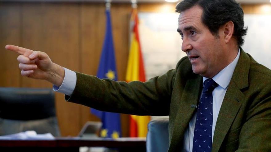 Antonio Garamendi, elegido nuevo presidente de la CEOE.