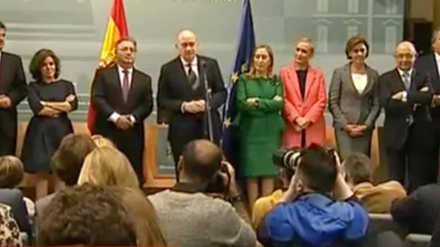 Nueve ministros, además de Zoido, despiden a Jorge Fernández Díaz