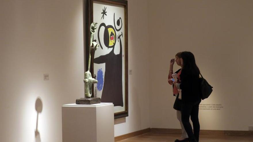 La belleza y la potencia de los últimos años de Joan Miró llegan a Argentina