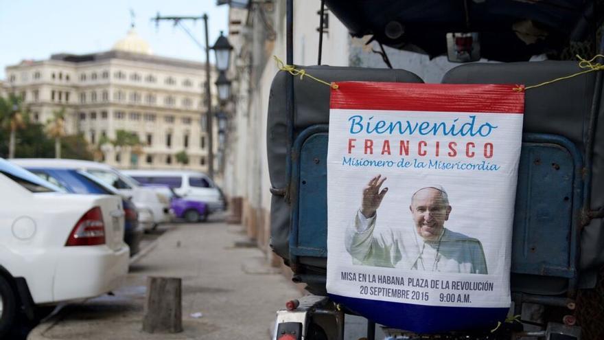 Cuba se prepara para la visita del Papa. (Himar Bethencourt)