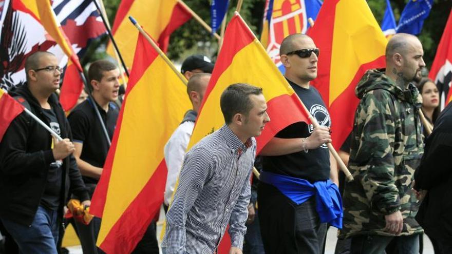 La ultraderecha violenta: 600 fichados en Madrid, poco activos y controlados