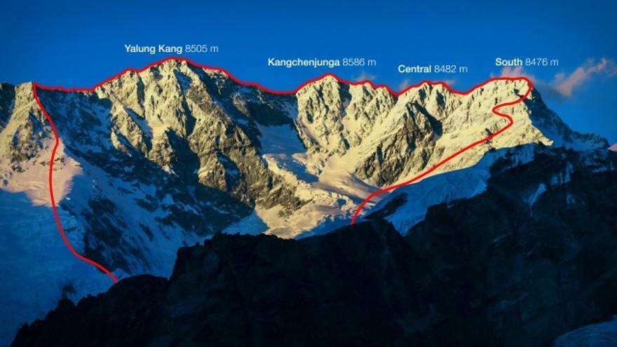 Travesía Kangchenjunga.