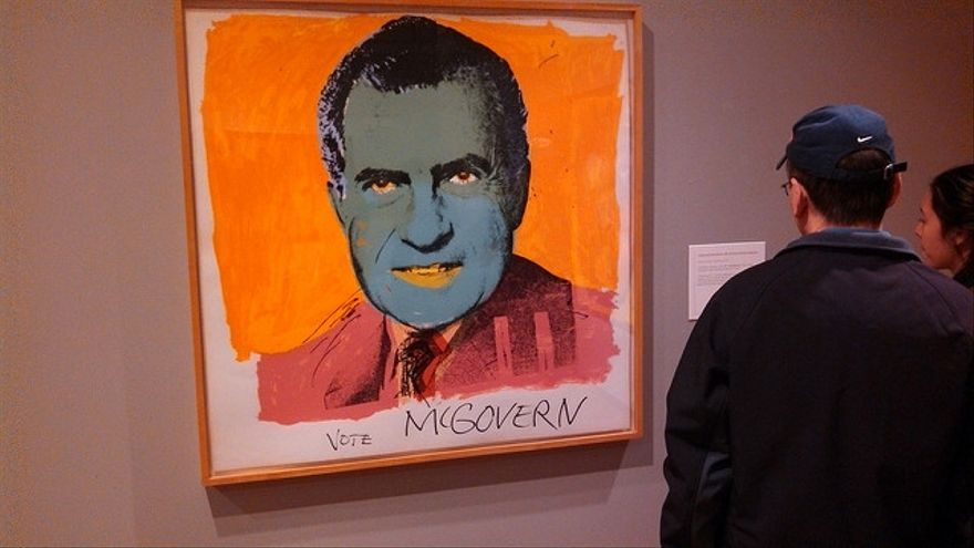 Vote McGovern by Andy Warhol (1972)/ Flickr