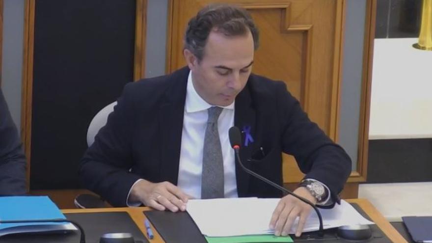 El vicepresidente la Diputación de Alicante, Carlos Castillo (PP)