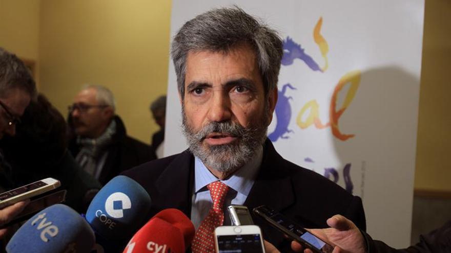 """El CGPJ reprocha a Torrent su """"grave"""" ataque al hablar de presos políticos"""