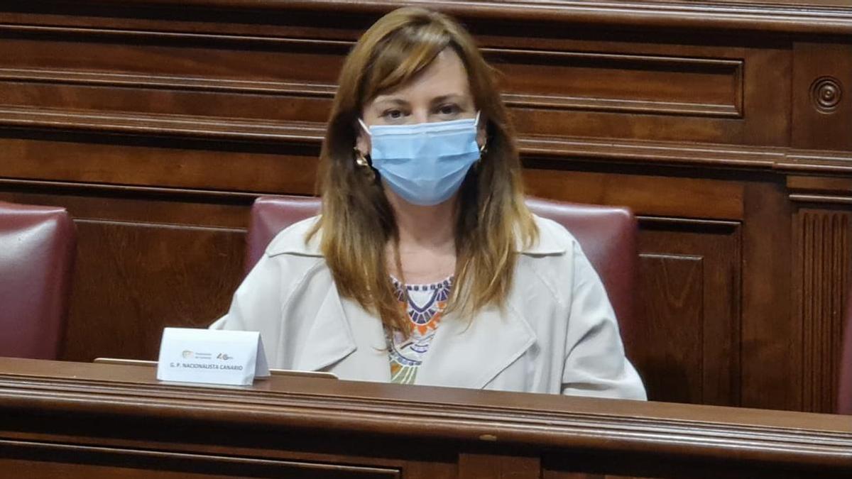 Nieves Lady Barreto, diputada de CC por La Palma en el Parlamento de Canarias.