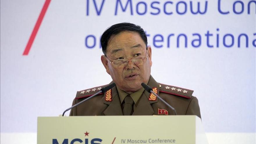 Corea del Norte ejecuta a su ministro de Defensa, según Seúl