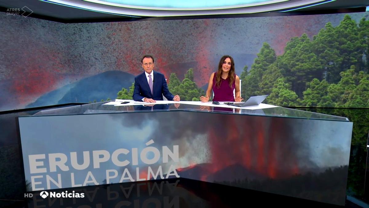 Matías Prats y Mónica Carrillo en 'Antena 3 Noticias'