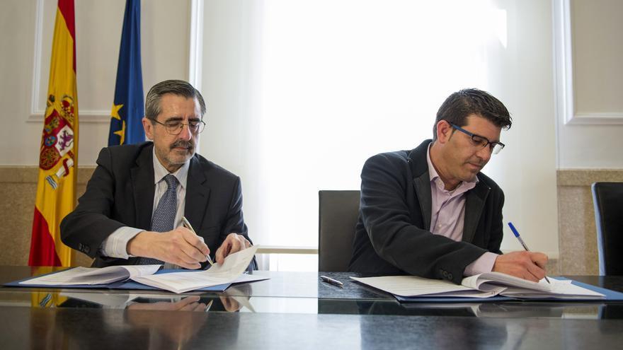 José María Ángel y Jorge Rodríguez