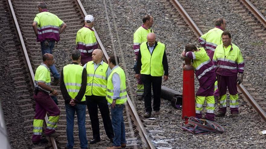 Trece personas siguen hospitalizadas tras el accidente de tren de O Porriño