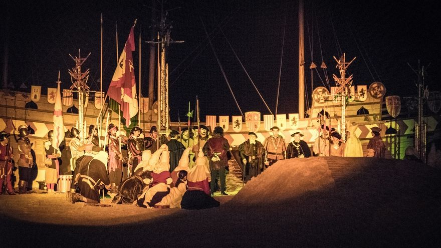 Laredo conmemora el desembarco del emperador Carlos V con actividades hasta el domingo